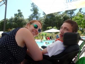 l'Accolade - bij het zwembad